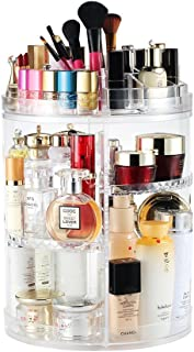 Rotating Makeup Organiser, Rotating 360 Degree Crystal