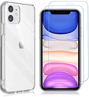 """Yoedge Case for Samsung Galaxy A01 Core 5.3"""" with 2 Pack Screen Protector,HD Transparent Tempered Film Screen Protector Tr..."""