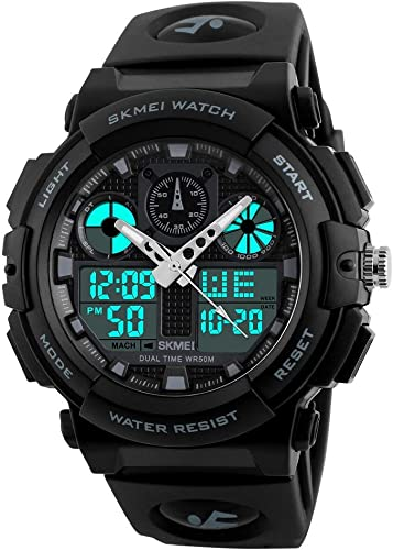 S Shock Multi Functional Analog Digital Sports Watch for Men s Boys