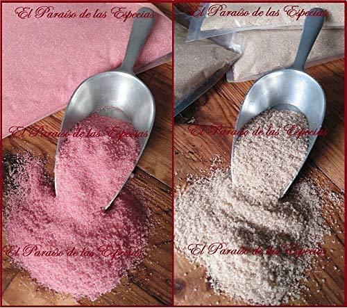 Pack dos Sabores para Máquina de Algodón de Azúcar 250 grs de Fresa Frambuesa & 250 grs de Cola