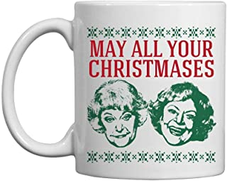 Christmases Bea White: 11oz Ceramic Coffee Mug