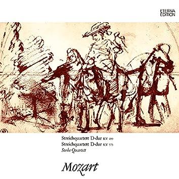 Mozart: Streichquartette No. 20 & 21