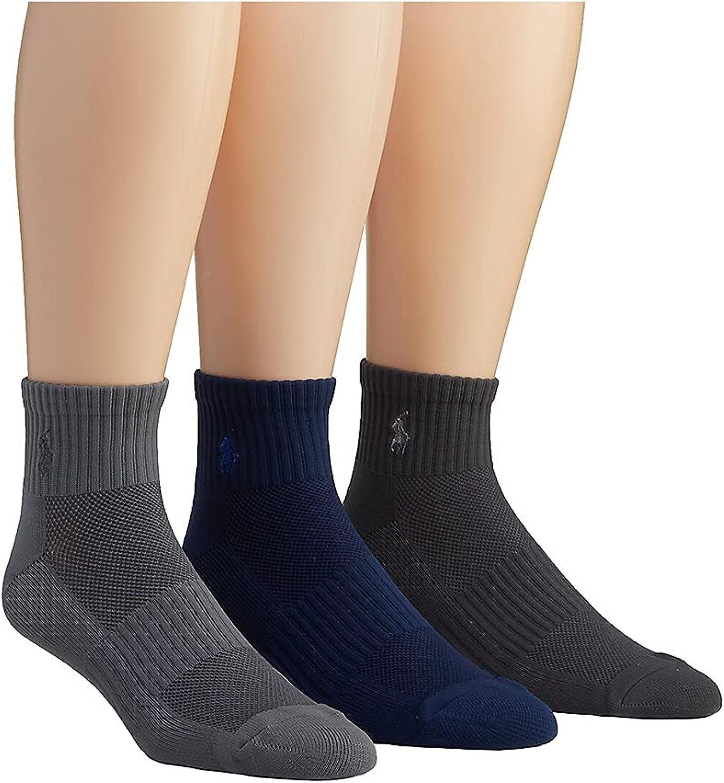 Tech Athletic Quarter Socks 3-Pack