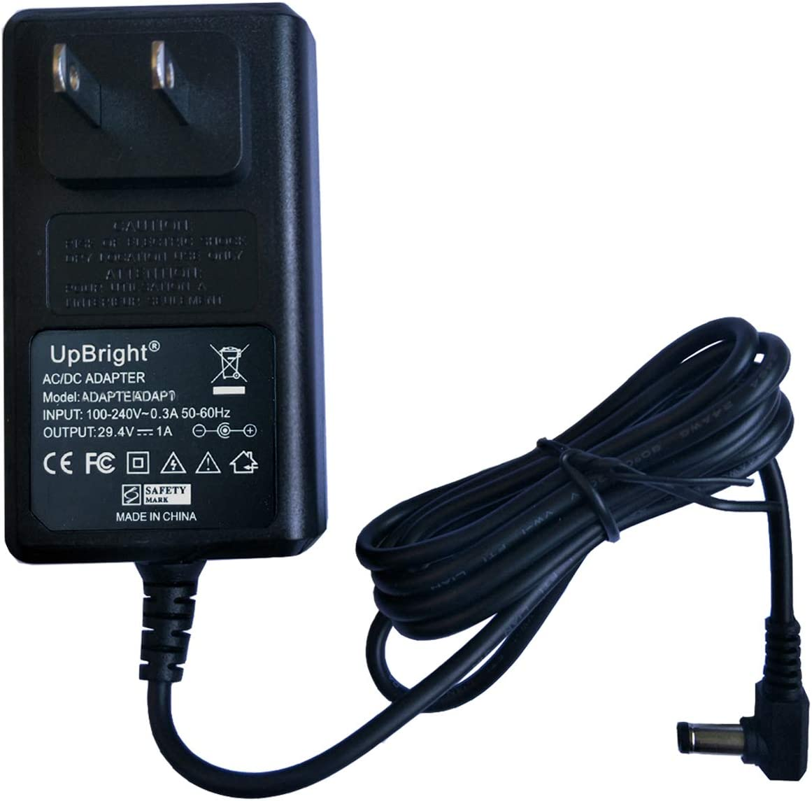 UpBright AC/DC Adapter Compatible with NEQUARE S23 Series S23-1 25.9V 2200mAh Rechargeable Lithium-ion Battery 23Kpa Super Suction Pet Hair Cordless Stick Vacuum Cleaner 29V 30V Power Supply Charger