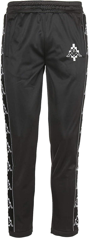 Marcelo Burlon X Kappa Men's CMCH003S186840531001 Black Polyester Joggers