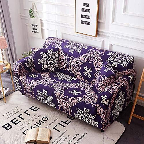 Funda de sofá Universal elástica elástica para sofá de Sala de Estar, Funda de Esquina de sofá seccional para Muebles A17, 4 plazas