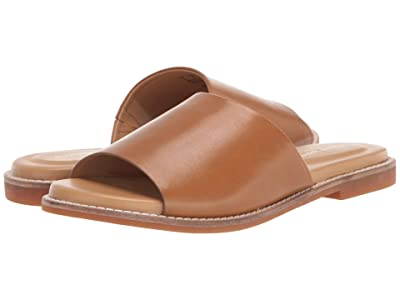Hush Puppies Lexi Slide (Tan Leather) Women
