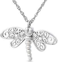 ZARABE Cremation Jewelry Animal Urn Ashes Vial Holder Keepsake Jewelry Funeral Memorial Locket Pendant