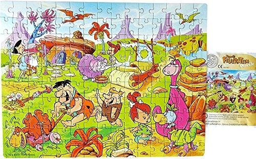 Fred Feuerstein Puzzle aus 150 Teilen mit Anleitung. Maxi Kinder Überraschungei Puzzle von Ferrero