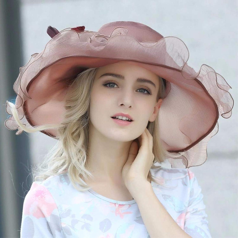 Beach Hat Woman Hat Summer Travel Cap Visor Beach Cap Brown Summer Sun Hat