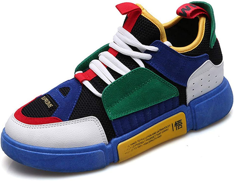 CZYDXCC Sports shoes Mens shoes Casual Men Sneakers Vulcanized shoes colord Lace Up Hip Hop Male shoes Adult