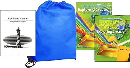 Exploring Creation with Chemistry and Physics w/ Notebooking Journal homeschool kit in a bag