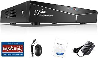 SANNCE 8CH 1080N Enregistreur DVR CCTV Système de Sécurité Vidéo Numérique H.264..
