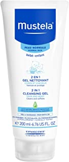 Mustela 2-in-1 Cleansing Gel - Hair & Body Wash - for Normal Skin, 200 mL (10004024)