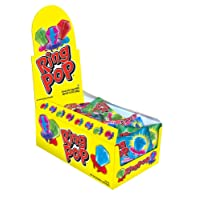 Deals on 24CT Ring Pop Individually Wrapped Bulk Lollipop Variety Party Pack