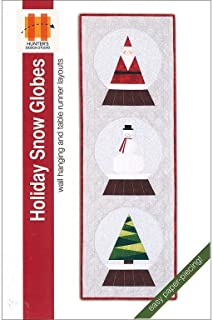 Hunter's Design Studio Holiday Snow Globes Ptrn