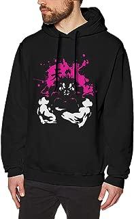 SAMANTHA NAYLOR Akuma Sweatshirts for Men Hoodies Black