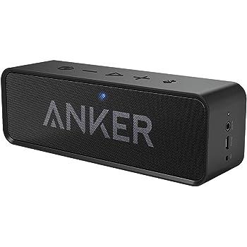 Anker Soundcore Bocina Bluetooth, 6W de Sonido Stereo, más bajos y más volumen, bluetooth 4.0, hasta 24 horas de reproducción, Micrófono incorporado,