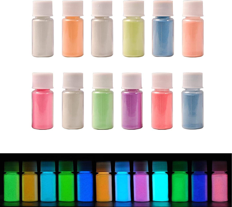 SEISSO Epoxy Resin Glow in The Powders Pigment Colors L Dark Cheap sale 12 Max 43% OFF