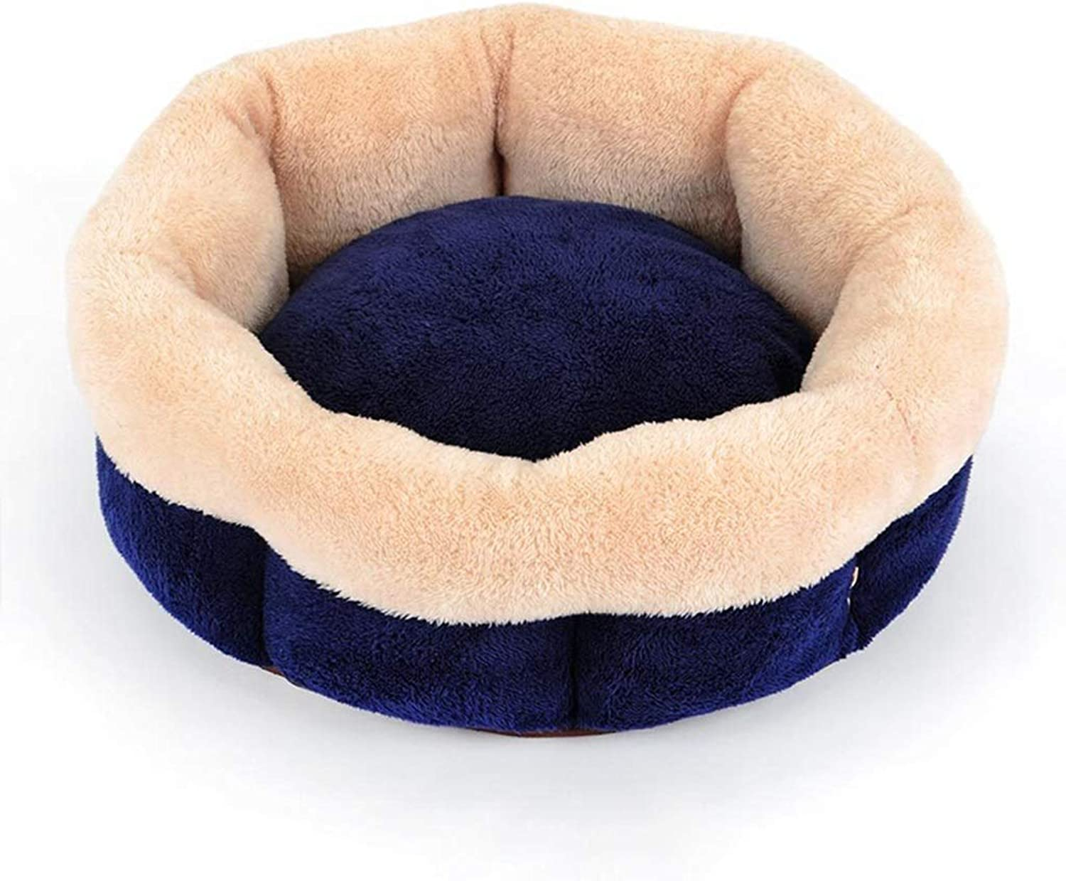 DSADDSD Pet Bed Removable And Washable Warm Kennel Comfortable And Durable Mat Pet Supplies (Size   50cm50cm20cm)