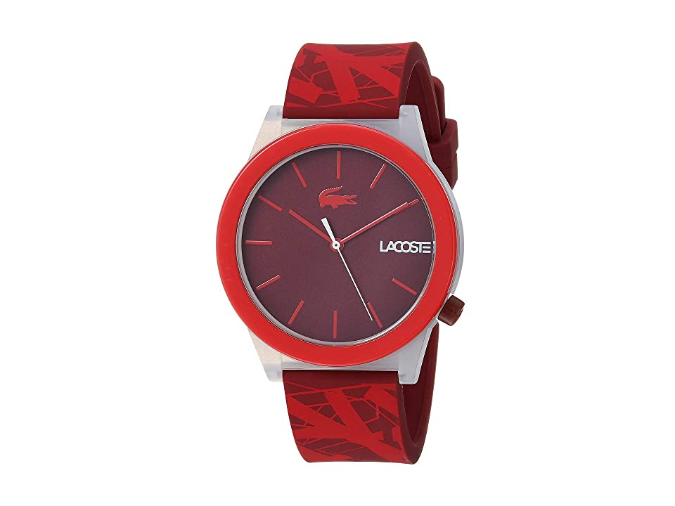 Lacoste Motion (Red) Watches