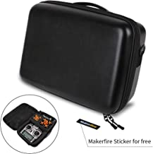 $30 » Makerfire Backpack Hardshell Carrying Case Travel Case Drone Storage Box for Tiny Whoop Eachine E010 QX90 QX95, X9D Transmitter Fatshark FPV Goggles Batteries and Battery Charger