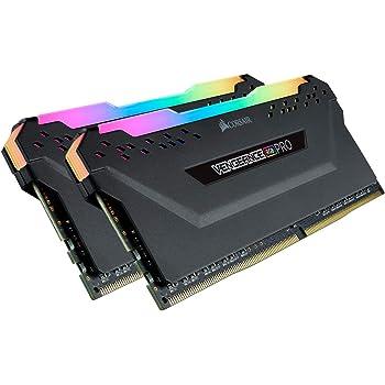 CORSAIR VENGEANCE RGB PRO 16GB (2x8GB) DDR4 2666MHz C16 LED Desktop Memory - Black