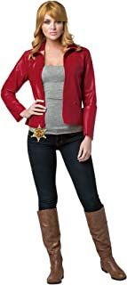 Women's Once Upon A Time Emma Swan Outfit Fancy Dress Halloween Costume