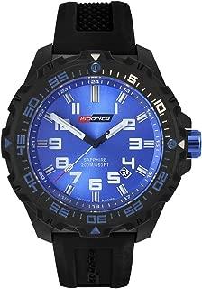 Isobrite ISO301 Valor Series Black/Blue T100 Tritium Watch