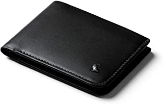 Bellroy Hide & Seek Wallet (Slim Leather Bifold Design, RFID Protected, Holds 5-12 Cards, Coin Pouch, Flat Note Section, Hidden Pocket)