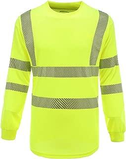 Class 3 Long Sleeve Safety Shirt | ANSI Work Wear | Hi Vis Shirt