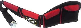 Seal - Cinturón de lastre para submarinismo rojo rosso Talla:small    4 pockets   28''- 38''     ( 71- 97 cm )