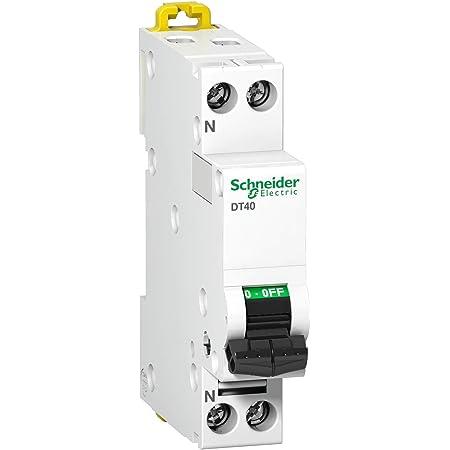 courbe d 10 amp/ères schneider dt40n phase disjoncteur a9n21375 neutre