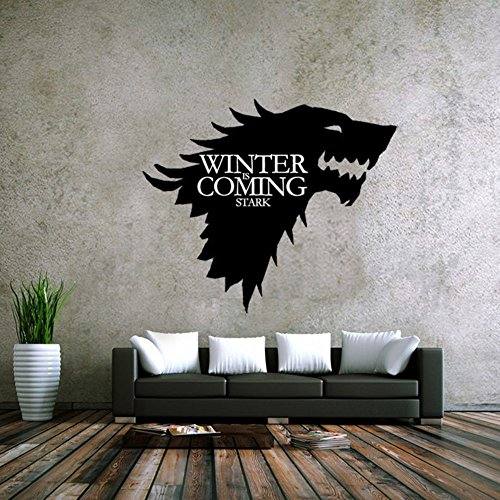 LPStar Removable Game of Thrones GOT Large Westeros Wall Decor Decals Murals Home Decoration Sticker 18x15 inch (18 x 15 )