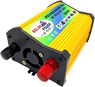 Homyl Inversor de Energia Solar para Carro 3000W DC 12V para AC Sinewave Dual USB Converter