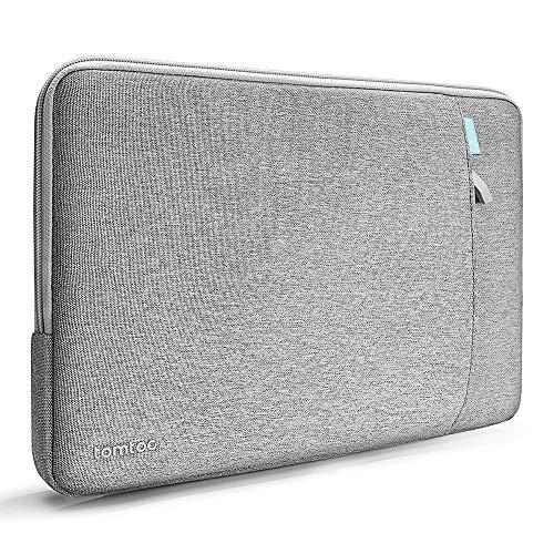 tomtoc 15,6-Zoll Recycelt Wasserdicht Laptop Tasche Hülle für 15,6-Zoll Lenovo IdeaPad, Notebook, Ultrabook, HP Pavilion x360, Dell Inspiron 15, Acer Chromebook 15, LG gram 17 Zoll Ultralight Notebook