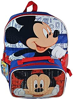 Mickey Mouse 16 Backpack with Lunch Bag
