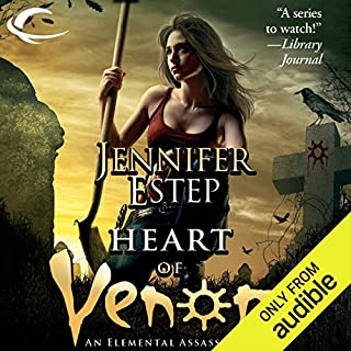 Heart of Venom     Elemental Assassin, Book 9              Written by:                                                                                                                                 Jennifer Estep                               Narrated by:                                                                                                                                 Lauren Fortgang                      Length: 10 hrs and 24 mins     Not rated yet     Overall 0.0