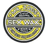 Sex Wax Original Circular Decal Sticker (Yellow, 3')
