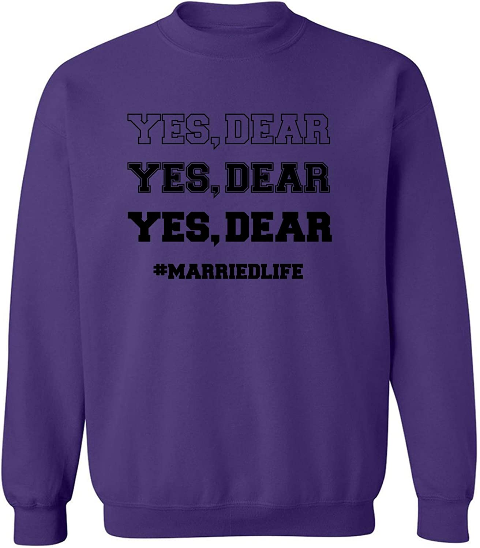 YES, DEAR Crewneck Sweatshirt