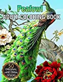 Peafowl Adult Coloring Book: Stress Relieving Designs with Fun, Easy and...