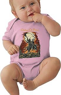 Bennett Children of Bodom Fashion Boys Girls Rompers Baby Jersey Bodysuit Breathable Short Sleeve Black