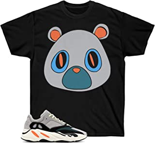 Yeezy Wave Runner 700 Shirt, Yeezy Bear Match, Waverunner, Black Shirt Short-Sleeve Unisex T-Shirt
