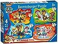 Ravensburger - Puzzle Paw Patrol, pack de 4 (03028) por Ravensburger