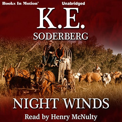 Night Winds audiobook cover art