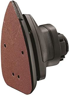Black+Decker Multi-Evo Multitool Sander Attachment with 5 Sanding Sheets , Orange/Black - MTSA2-XJ, 2 Years Warranty