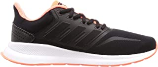 adidas Runfalcon, Men's Road Running Shoes, Black (Core Black/Signal Coral)