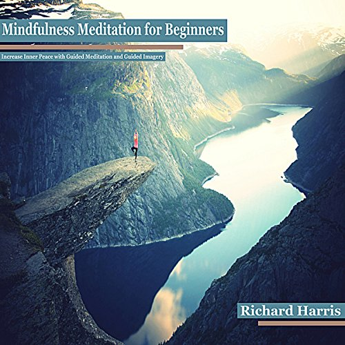Mindfulness Meditation for Beginners: Increase Inner Peace with Guided Meditation and Guided Imagery audiobook cover art