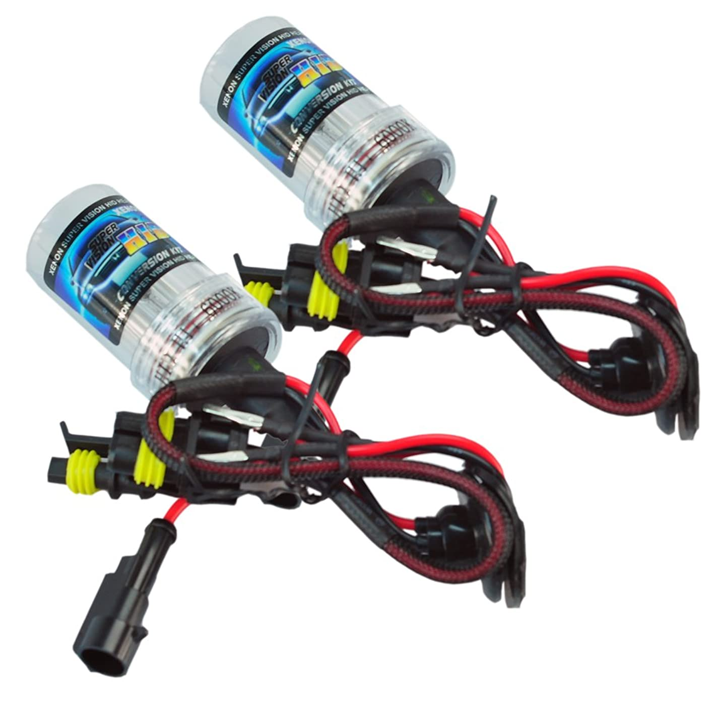 New 35w H11-6000K HID Xenon Lights Replacement Bulbs