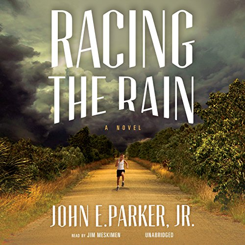 Racing the Rain audiobook cover art